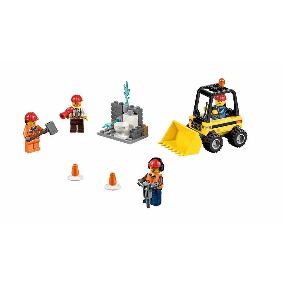 LEGO City Строительная команда - Демонтаж: стартовый набор - 60072 - Игрушки оптом от компании Бельвиль