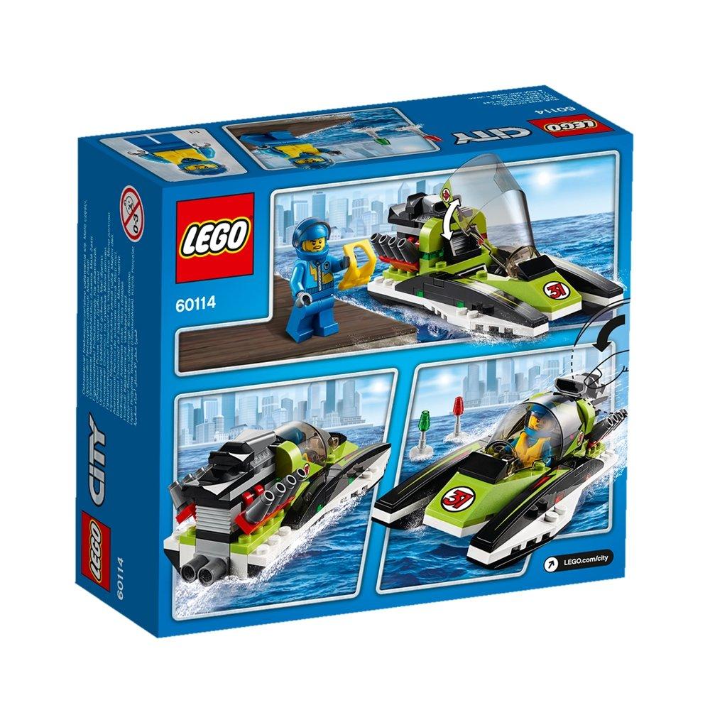 Лего фура с лодкой